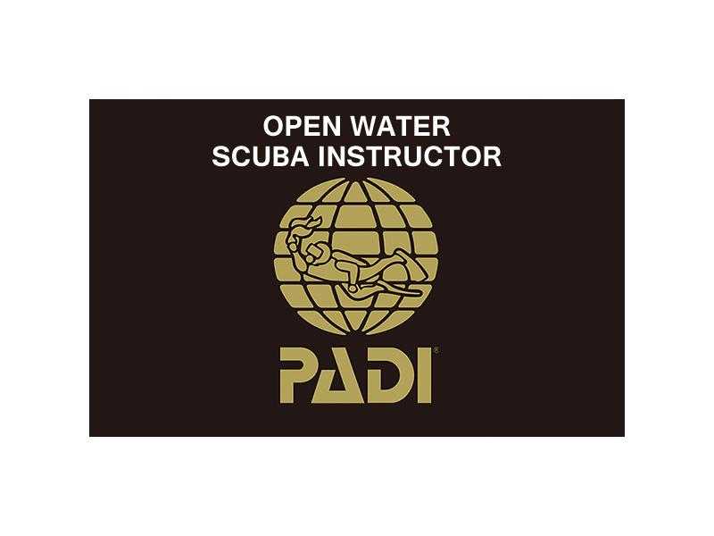 PADI OWスクーバインストラクターコース