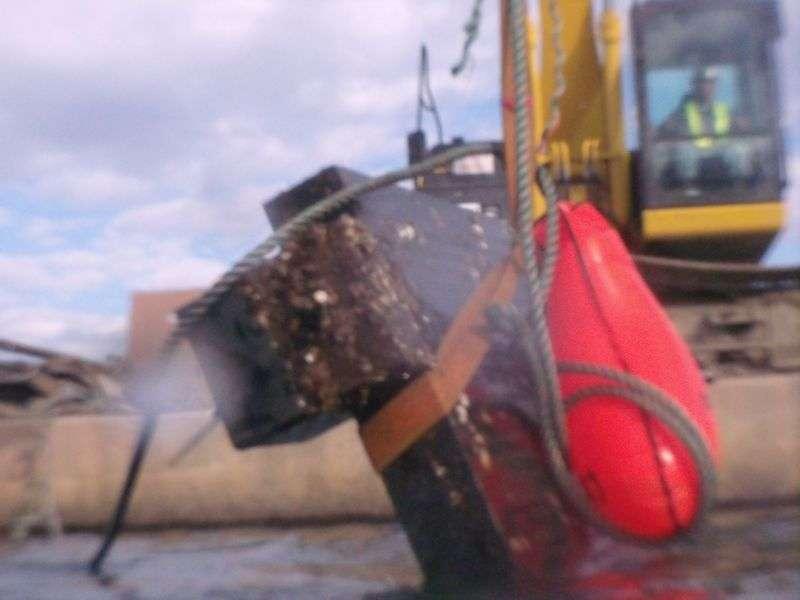 石板回収スキューバで出来る復興支援
